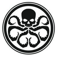 Наклейка Hydra (Marvel Agents of Shield) Logo