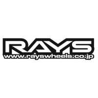 Наклейка Rays V2 (rayswheels.co.jp)