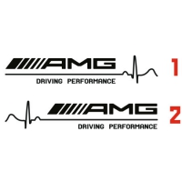 Наклейка AMG Driving Performance