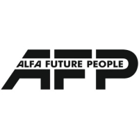 Наклейка ALFA FUTURE PEOPLE (AFP)