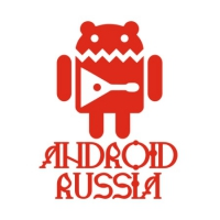 Наклейка Android Russia