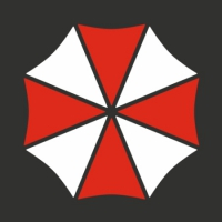 Наклейка Umbrella corporation v3