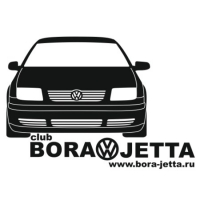 Наклейка Bora Jetta Club v1
