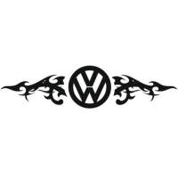 Наклейка VW Logo Tatoo