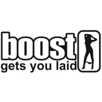 Наклейка Boost gets you laid