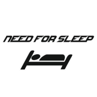 Наклейка Need For Sleep