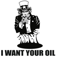 Наклейка I Want Your Oil