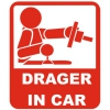 Наклейка Drager in Car