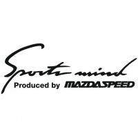 Наклейка Sports Mind Produced by MAZDASPEED