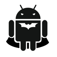 Наклейка Android Batman