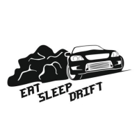 Наклейка Eat Sleep Drift
