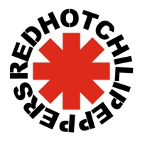 Наклейка Red Hot Chili Peppers