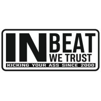 Наклейка IN BEAT WE TRUST