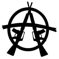 Наклейка Anarchy Weapons (Анархия)