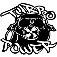 Наклейка Turbo Power