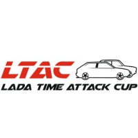 Наклейка LADA TIME ATTACK CUP