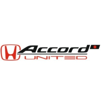Наклейка Honda Accord United Japan