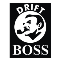 Наклейка Drift Boss