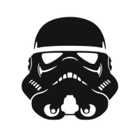 Наклейка Stormtrooper (Star Wars)