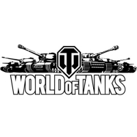 Наклейка World of Tanks Logo