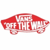 Наклейка Vans of the wall