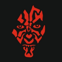 Наклейка Darth Maul v1
