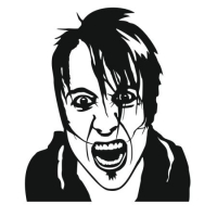 Наклейка Jacoby Shaddix from Papa Roach