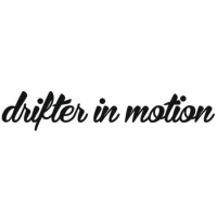 Наклейка Drifter in motion