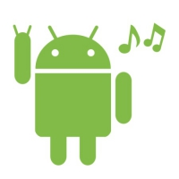 Наклейка Android Music