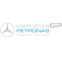 Наклейка Mercedes GP Petronas Formula One Team