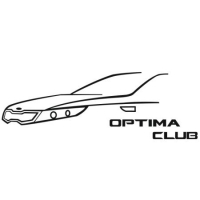 Наклейка Kia Optima Club