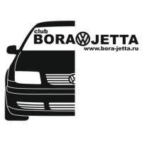Наклейка Bora Jetta Club v3