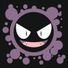 Наклейка Gastly Pokemon