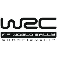 Наклейка WRC FIA World Rally Championship
