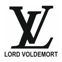 Наклейка Lord Voldemort (Louis Vuitton)