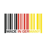 Наклейка Barcode Made In Germany
