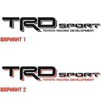Наклейка TRD Sport Toyota Racing Development