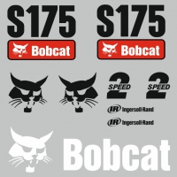 Комплект наклеек на Bobcat S175 2 speed