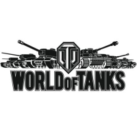 Наклейка World of Tanks Logo v4