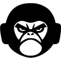 angry-gorilla-450x450